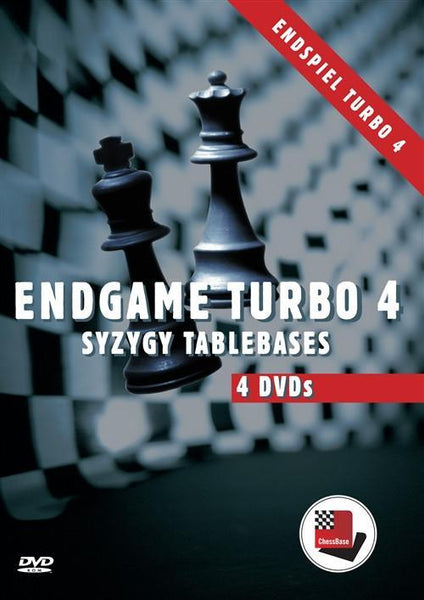 Endgame Turbo 4 - Syzygy Table Bases - Software DVD - Chess-House