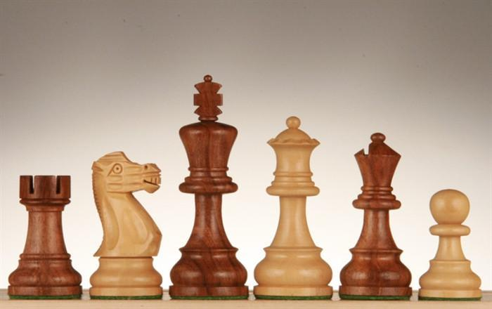 English Chessmen - Weighted - 3 1/2