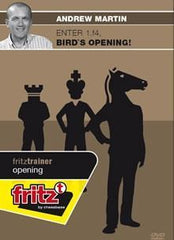 Enter 1.f4, Bird's Opening! - Martin - Software DVD - Chess-House