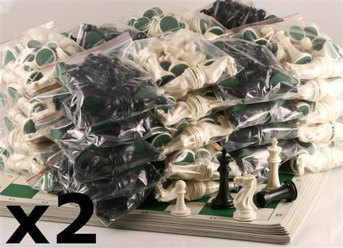 Executive Chess Sets 40-Pack (up to 80 players) - Chess Set - Chess-House