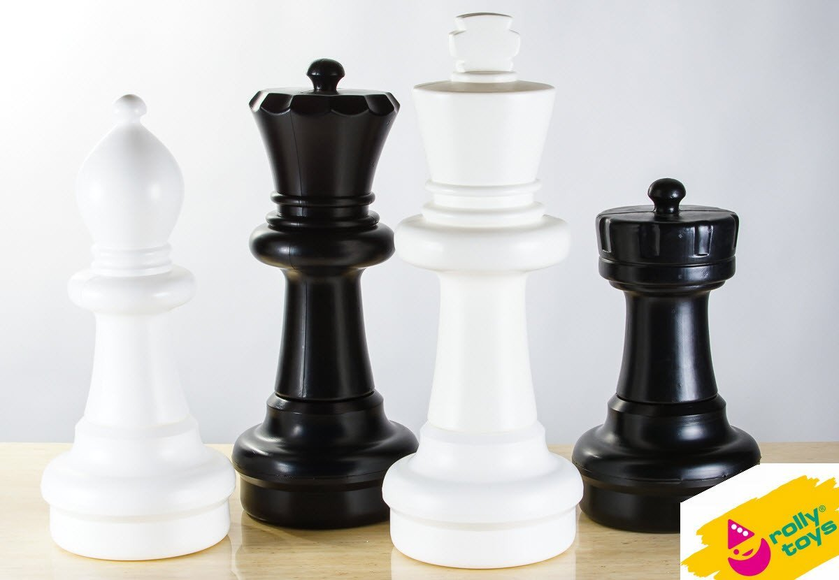 Extra Pieces for Rolly Toys 25 inch Giant Chess - Chess Pieces