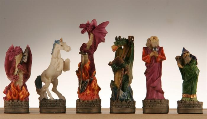 Fantasy Chess Pieces