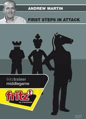 First steps in attack (DVD) - Martin - Software DVD - Chess-House