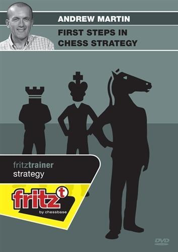 First Steps in Chess Strategy - Martin - Software DVD - Chess-House