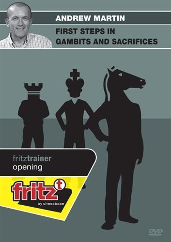 First Steps in Gambits and Sacrifices - Martin - Software DVD - Chess-House