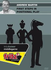 First Steps in Positional Play - Martin - Software DVD - Chess-House