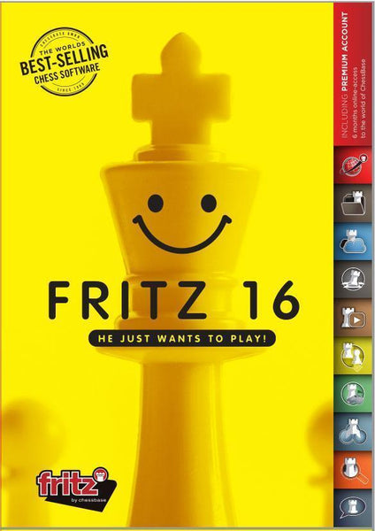 Fritz 16 Chess Software (DIGITAL DOWNLOAD) - Digital Download - Chess-House