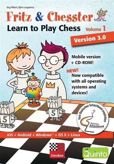 Fritz & Chesster, Part 1 Version 3.0 Mobile and CD Rom - Software DVD - Chess-House