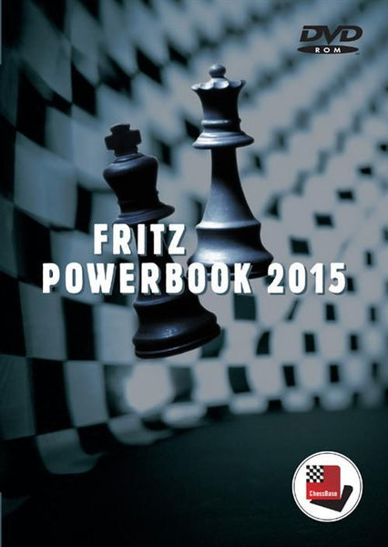 Fritz Powerbook 2015 (DVD) - Software DVD - Chess-House