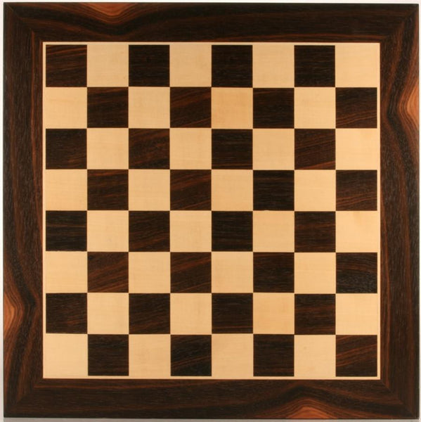 "GARAGE SALE ITEM: 19"" Wood Chessboard - Black Stained - Garage Sale - Chess-House"