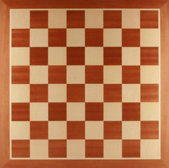 "GARAGE SALE ITEM: 21.5"" Wooden Chess Board - No Notation - Garage Sale - Chess-House"