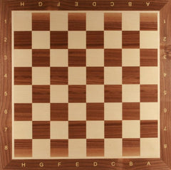 "GARAGE SALE ITEM: 21.5"" Wooden Chess Board - Walnut - Garage Sale - Chess-House"