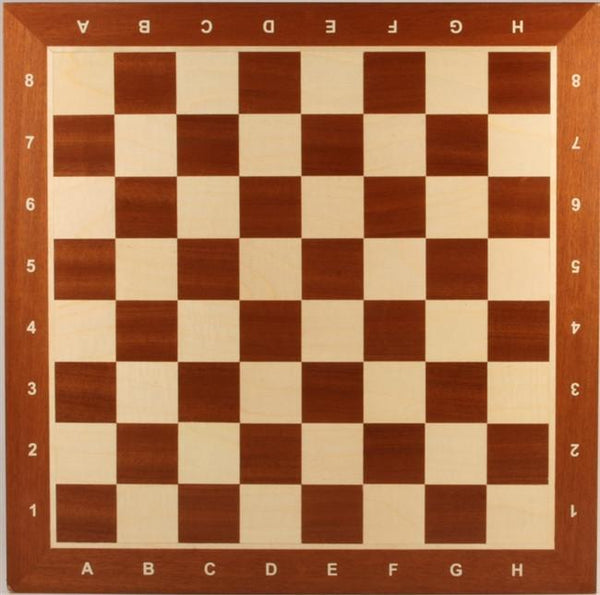 "GARAGE SALE ITEM: 21.5"" Wooden Chess Board with coordinates - Garage Sale - Chess-House"