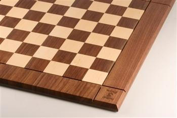"GARAGE SALE ITEM: 21"" Hardwood Player's Chessboard JLP, USA - Garage Sale - Chess-House"
