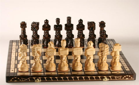 "GARAGE SALE ITEM: 23"" Large Gladiator Chess Set - Garage Sale - Chess-House"