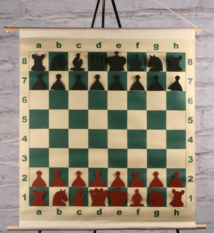 "GARAGE SALE ITEM: 27"" Vinyl Slot-in Style Demo Board - Garage Sale - Chess-House"