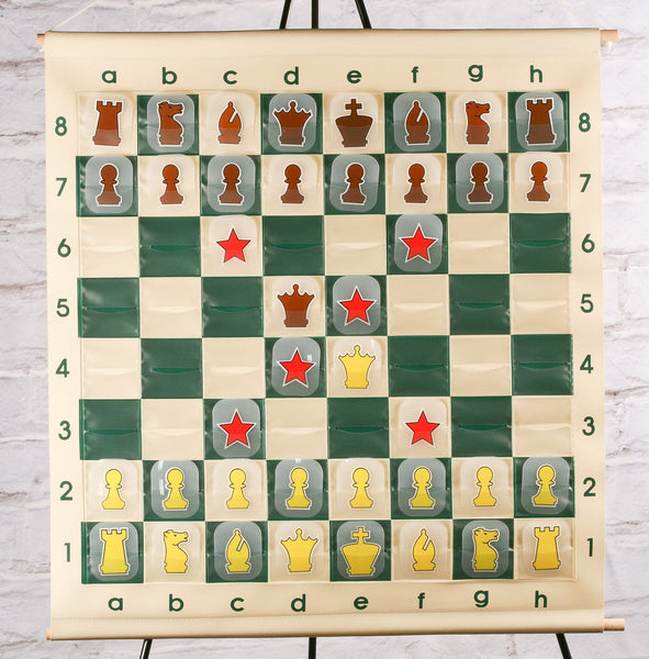 "GARAGE SALE ITEM: 28"" Roll-up Vinyl Demo Board - Garage Sale - Chess-House"