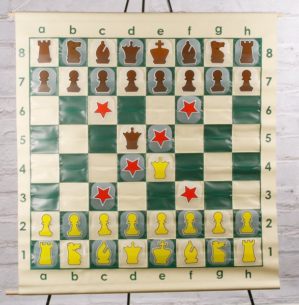 "GARAGE SALE ITEM: 36"" Roll-up Vinyl Demo Board - Garage Sale - Chess-House"