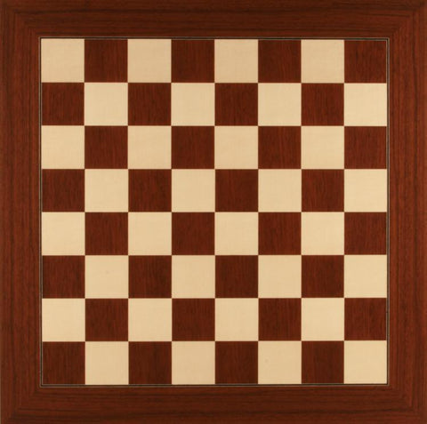 GARAGE SALE ITEM: Deluxe Montgoy Palisander and Maple Chess Board - Garage Sale - Chess-House