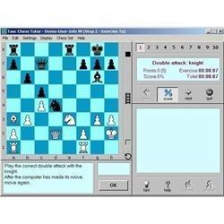 GARAGE SALE ITEM: TASC Chess Tutorial 2 (CD) Chess Rules & Learn to Play Chess - Garage Sale - Chess-House