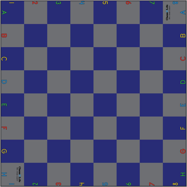 Giant Chess Nylon Carpet Mat - 8 Foot (School Certified) - Board - Chess-House