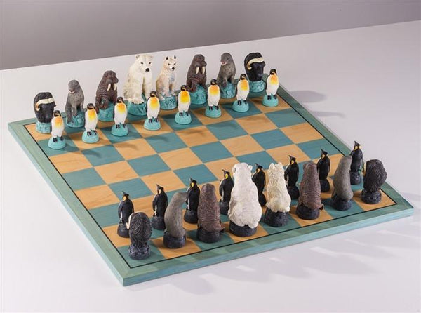 Glacier Chess Set - Chess Set - Chess-House