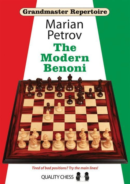 Grandmaster Repertoire 12: The Modern Benoni - Petrov - Book - Chess-House