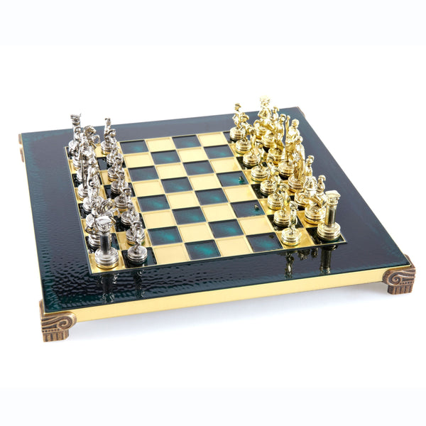 Greek Roman Period Chess Set - 11""