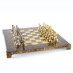 Greek Roman Period Chess Set with Storage Chess Set