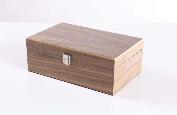 "DEAL ITEM: Walnut Storage Box (for most pieces up to 3.75"")"