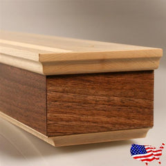 "Hardwood Shelf for 21"" Chessboards - Storage - Chess-House"