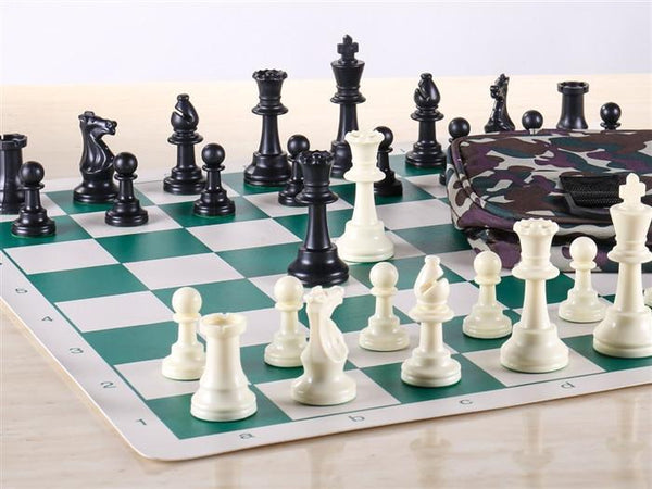 Heavy Club Chess Set Combo - Chess Set - Chess-House