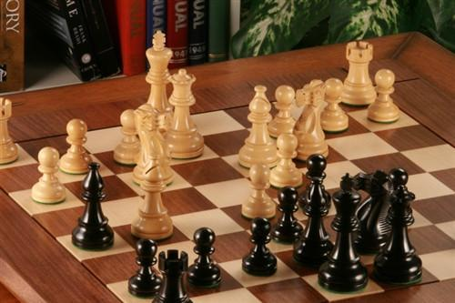 Heirloom American Staunton Chess Set