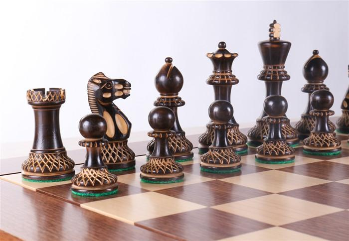 enjoyable ideas cheap chess sets. Heirloom Burnt Finish Grandmaster Chess Set  House