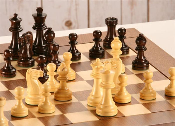 Heirloom French Staunton Chess Set - Rosewood - Chess Set - Chess-House