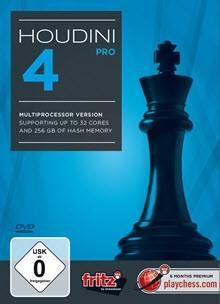 Houdini 4 Pro - Software DVD - Chess-House