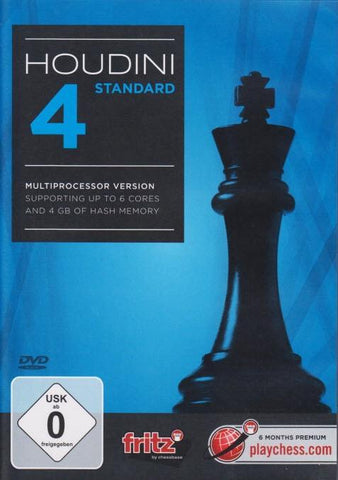 Houdini 4 Standard - Software DVD - Chess-House