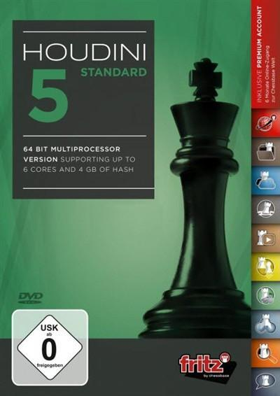 Houdini 5 Standard - Software DVD - Chess-House