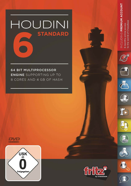 Houdini 6 Standard - Software DVD - Chess-House