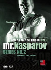 How to Play the Najdorf, Vol. 1 - Kasparov - Software DVD - Chess-House
