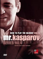 How to Play the Najdorf, Vol. 3 - Kasparov - Software DVD - Chess-House