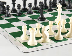 Inspiration Club Chess Set on Flex Pad
