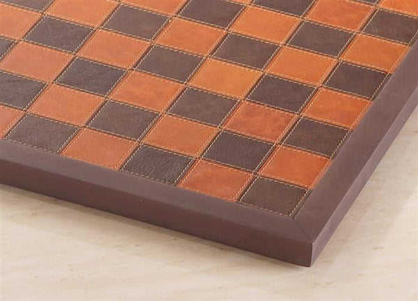 Italy Genuine Leather Framed Chess Board - Board - Chess-House