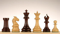 "King's Crown Red Rosewood, 4.25"" - Piece - Chess-House"