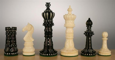 King's Series Camel Bone Chess Pieces - Piece - Chess-House