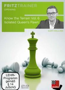 Know The Terrain 6: Isolated Queen's Pawn - Collins - Software DVD - Chess-House