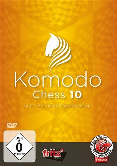Komodo Chess 10 - Software DVD - Chess-House