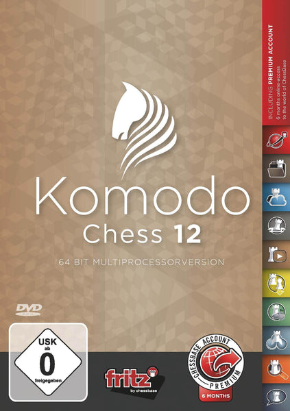 Komodo Chess 12 - Software DVD - Chess-House