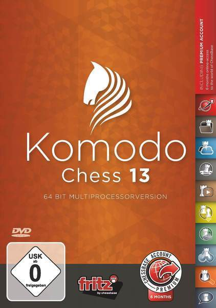Komodo Chess 13 (DIGITAL DOWNLOAD) Digital Download