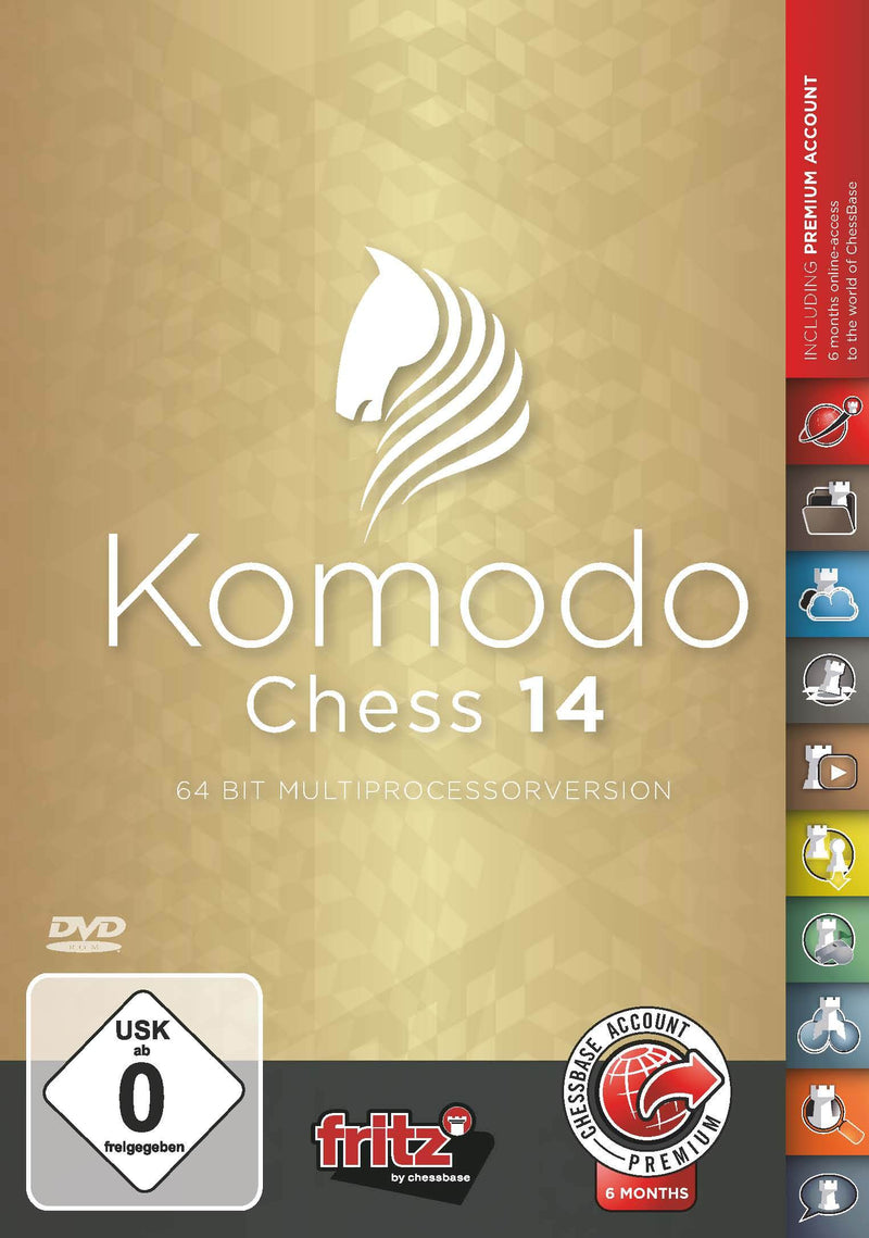 Komodo Chess 14 (DIGITAL DOWNLOAD)